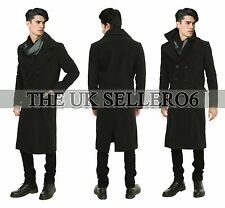 Sherlock Holmes Benedict Cumberbatch Cape Wool Winter Jacket Woolen Trench Coat