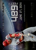 2015 Topps Update Tape Measure Blasts #TMB5 Mike Trout - NM-MT