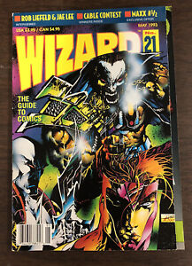 WIZARD COMICS MAGAZINE #21 May 1993 Youngblood Cover Rob Liefeld No Card