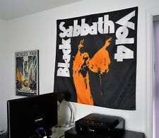 BLACK SABBATH Volume 4 HUGE BANNER fabric poster tapestry cd album wall decor