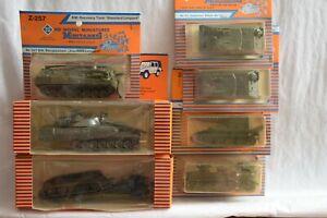 HO Scale-Roco Minitanks Lot of 7 135 256 257 140 212 228 NEW German Tanks