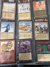 MTG ARABIAN NIGHTS complete set, Bazaar, LIbrary of Alexandria,Juzam LP/NM