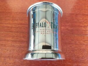 BUFFALO TRACE BOURBON, MINT JULEP, STAINLESS STEEL CUP (RARE) BRAND NEW