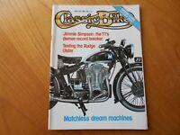 Classic Bike Magazine - June 1980 - Rudge Ulster / Matchless / Triumph 250