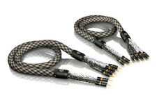 8,00m Viablue SC-6 Air Silver Bi-Wire Speaker Cable Cable 8,0m 8m (1Paar)