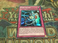 Yu-Gi-Oh Safe Zone EXVC-IT078! Super Rare! 1st!! Italian!
