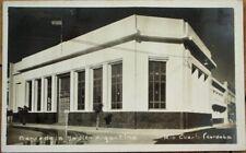 Cordoba, Argentina 1930s Realphoto Postcard: Banco de la Nacion, Rio Cuarto