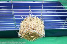 GRANDE Alimentatore GABBIA cubo di fieno con Gancio/Rack giocattolo per Conigli, Cavie, CINCILLA'