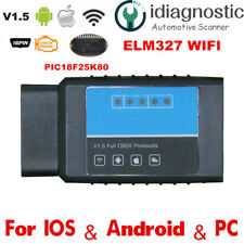 ELM327 WIFI OBD2 OBDII Auto Car Diagnostic Scan Tool Scanner for iOS Android PC