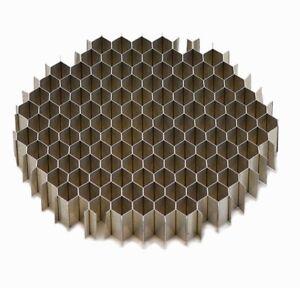3.0 OD  x .5  Airflow Straightener Screen .25 honeycomb cell mass air flow