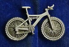 Empire Pewter Full Suspension Mountain Bike Pin
