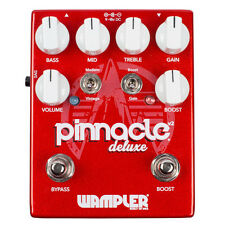 Wampler Pinnacle Deluxe Distortion Guitar Effects Pedal Stompbox Version 2