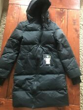 NEW UNDER ARMOUR DOWN PARKA Black  UA Puffer Women's Jacket Coat with Logo XS