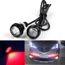 10X 9W 23mm Red LED Eagle Eye Light Daytime Running DRL Reverse Backup Lamp
