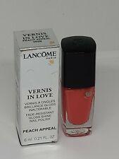 Lancome Vernis In Love Nail Polish Shade # 362B Peach Appeal  6ml