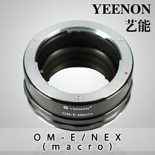 Yeenon Olympus OM lens to SONY E-MOUNT  body OM-NEX Helicoid Adapter(macro)