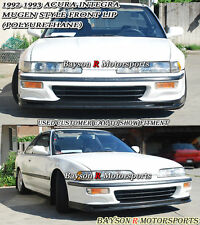 Mu-gen Style Front Lip (Urethane) Fits 92-93 Integra 2/4dr