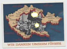 Germany Reich 1939 POSTCARD POSTAL HISTORY MILITARY MAP USED Backnang