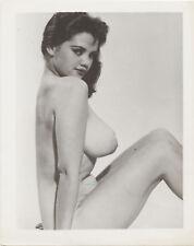 Vint Nude Busty Rosina Revelle Posing 3    Glossy Photo
