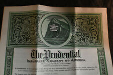 1947 Prudential Life Insurance Policy