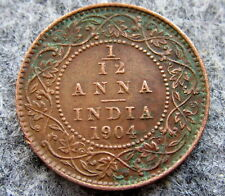 INDIA EDWARD VII 1909 1/12 ANNA