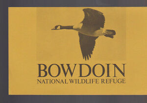 Bowdon National Wildlife Refuge Brochure Phillips County Montana 1971