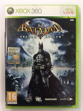 BATMAN ARKHAM ASYLUM    XBOX 360  - PAL - Manuale in Italiano