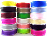 ** Organza / Chiffon Ribbon with Satin Edge - 10mm / 15mm / 25mm