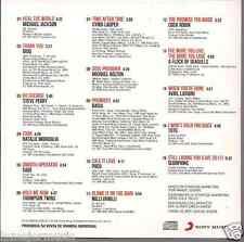 RARE 80'S 90's CD DIDO thank you MILLI VANILLI blame it on the rain TOTO sade