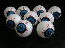 set of 9 halloween plastic eyeballs