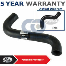 Gates Radiator Hose For Ford Transit 2.5 D Di TD Coolant Curved 3798