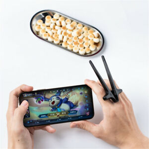 Lazy Assistant Accessory Hand Phone Play Games Clip Snacks Finger Chopsticks