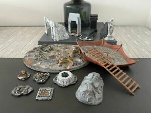 GW Lord Of The Rings Middle Earth Terrain Moria Siege Ruins Balin's Tomb Mumakil