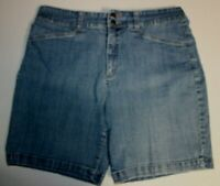 George and Martha Diane Jean Denim Shorts Dark Wash Size 38 40 42