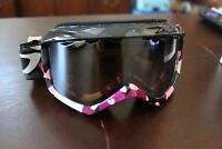 GIRO GRADE PLUS snow ski goggles  Youth Med  ANTI FOG  NEW IN BOX!!  BLACK HEART