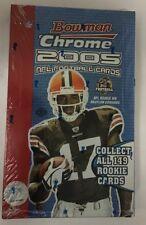 2005 Bowman Chrome Football Factory Sealed Hobby Box Rodgers RC?