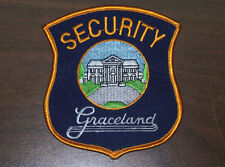 VERY RARE ELVIS PRESLEY GRACELAND SECURITY GUARD PATCH