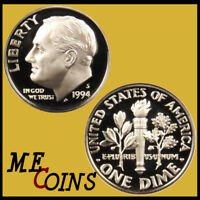 1994-S PROOF Roosevelt Dime , Clad , Gem Cameo , FREE SHIPPING!