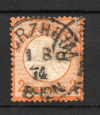 Germany ( Empire ) : 1872 2 Kreuzer ( used )