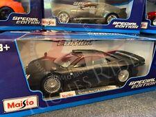 Maisto 1:18 Scale Diecast Model: Mercedes-Benz CLK-GTR  (Matte Black)