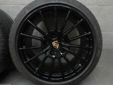 4 jantes neuves 19'' style Sportdesign Porsche Black Polish Boxster, Cayman