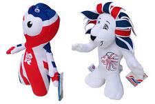 2012 Giochi Olimpici London Pride Lion 35 CM & Union Jack Wenlock 25 cm peluche giocattoli