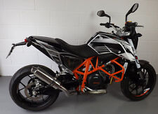 KTM 690 Duke 12-15 SP Engineering Polished Stainless Round Big Bore XLS Exhaust