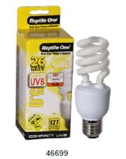 Reptile One Compact UVB Bulb 26w UVB 5.0 E27 Fitting 46699