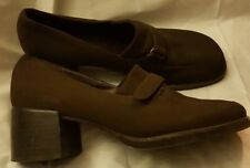 ROCKPORT Women's Brown Loafer Comfort Heels Shoes Pumps Size 5.5 M~World Ship