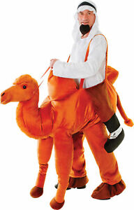 Nativity Play Fancy Dress Stag Party Step On Ride In Camel Xmas Costume UK