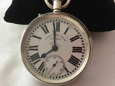 SILVER*SURAT LEVER WATCH SWISS MADE*WORKING ORDER