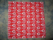 MLB CINCINNATI REDS BASEBALL HEAD BANDANA / CHEERING CLOTH  22 1/2""