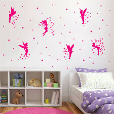 ik1185 Wall Decal Sticker forest fairy sorceress witch bedroom