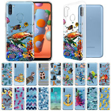 """For Samsung Galaxy A11 6.4"""" 2020 Transparent Crystal Clear Soft TPU Case Cover"""